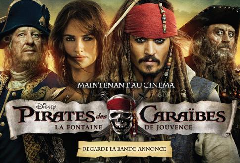 Pirates des Caraïbes La Fontaine de Jouvence