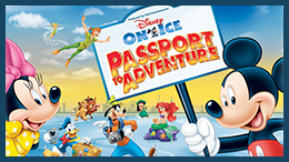 Disney On Ice presents Passport To Adventure: Final UK dates at London's Wembley Arena this Christmas. Playing 28 December 2012 to 6 January 2013.
