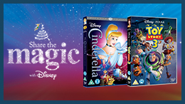 Enjoy a magical film with the family this Christmas. Share the Magic this year with Disney on Blu-ray and DVD.