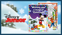 Create your own Christmas cards featuring your favourite characters. Make decorations, print wrapping paper and gift cards – and lots more!